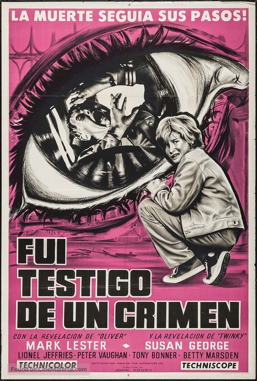 Eyewitness - Argentinian Movie Poster