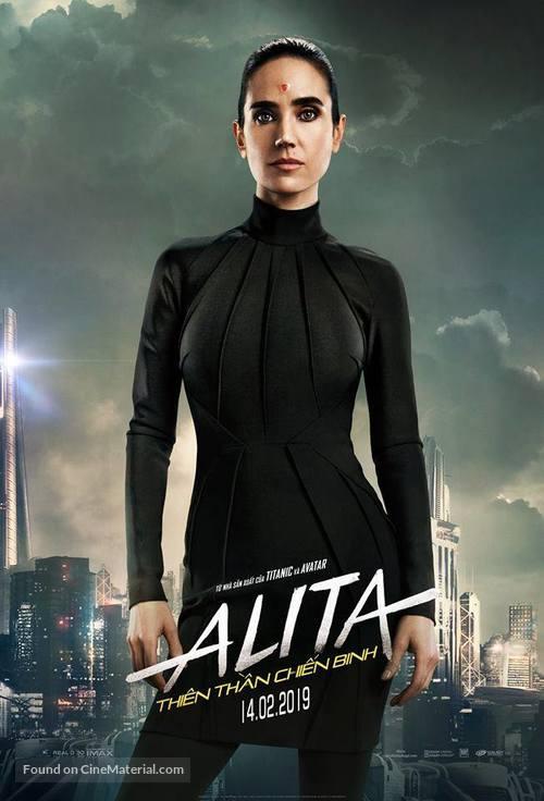 Alita: Battle Angel - Vietnamese Movie Poster