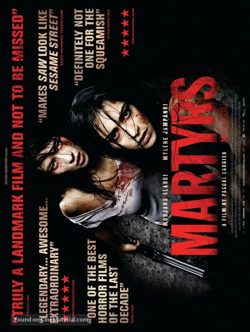 Martyrs - British Movie Poster