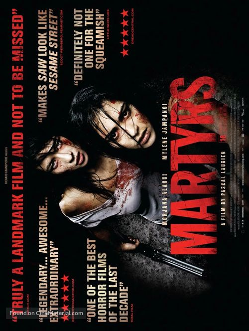Martyrs - British Movie Poster