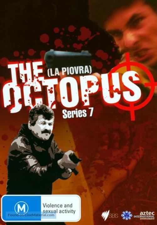 """""""La piovra 7 - Indagine sulla morte del comissario Cattani"""" - Australian DVD cover"""