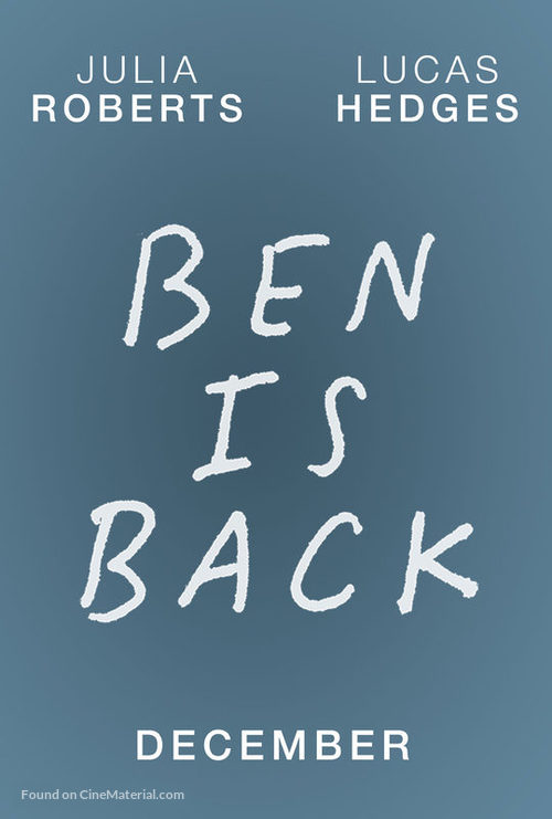 Ben Is Back - Movie Poster