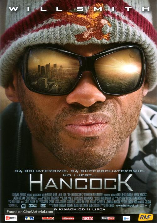 Hancock - Polish Movie Poster