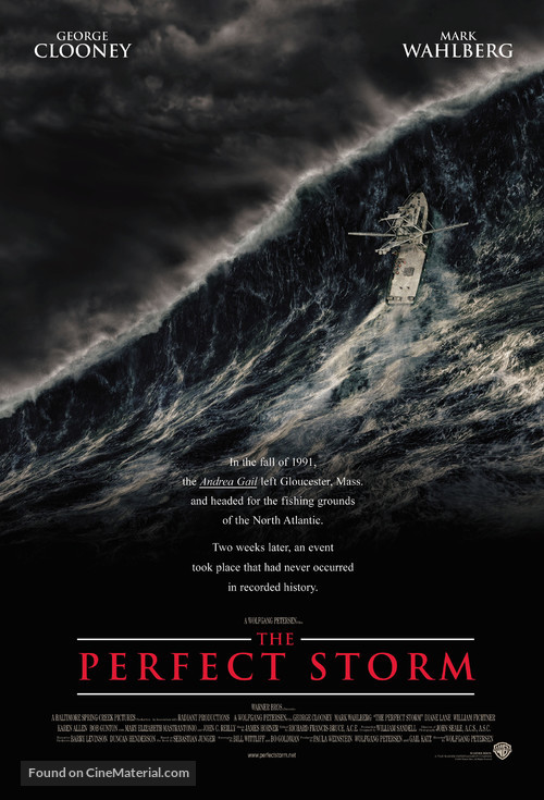 The Perfect Storm - Movie Poster