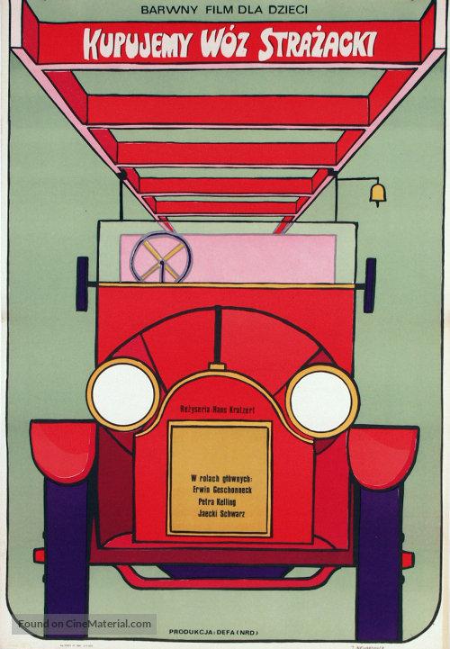 Wir kaufen eine Feuerwehr - Polish Movie Poster