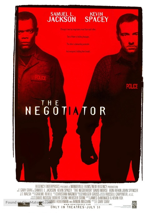 The Negotiator - Movie Poster