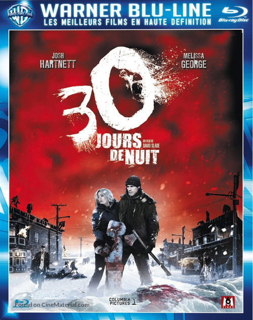 30 Days of Night - French Blu-Ray movie cover