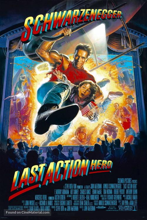 Last Action Hero - Movie Poster