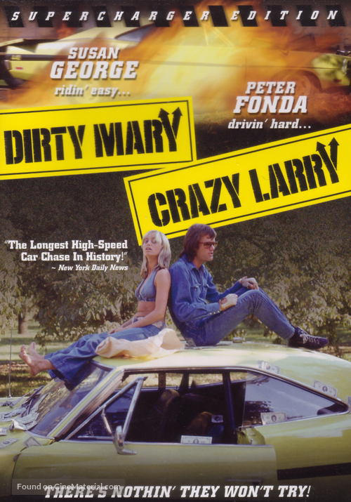 Dirty Mary Crazy Larry - Movie Cover