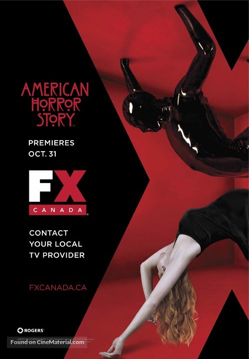 """""""American Horror Story"""" - Canadian Movie Poster"""