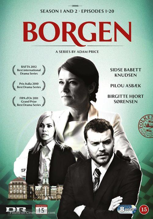 """""""Borgen"""" - Danish DVD cover"""
