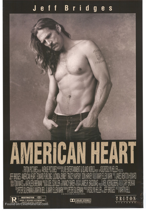 American Heart - Movie Poster