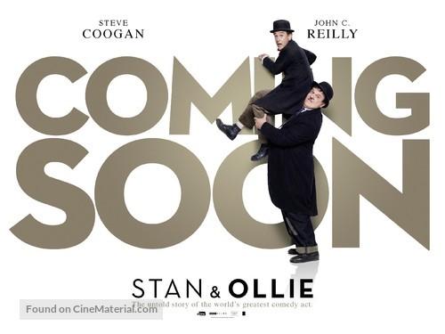 Stan & Ollie - British Movie Poster