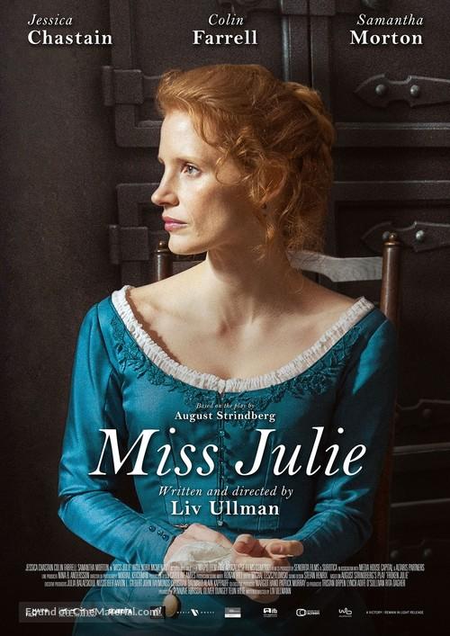 Miss Julie - Dutch Movie Poster