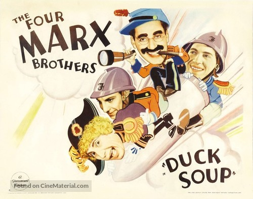 Duck Soup - Movie Poster