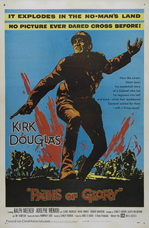 Paths of Glory - Movie Poster