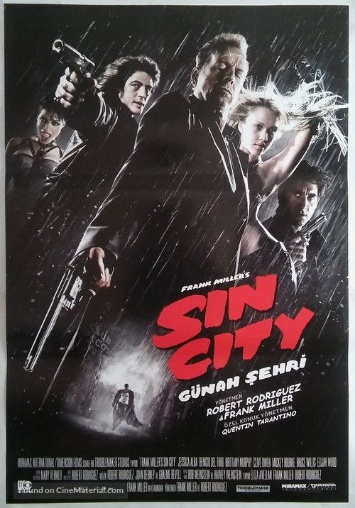 Sin City - Turkish Movie Poster