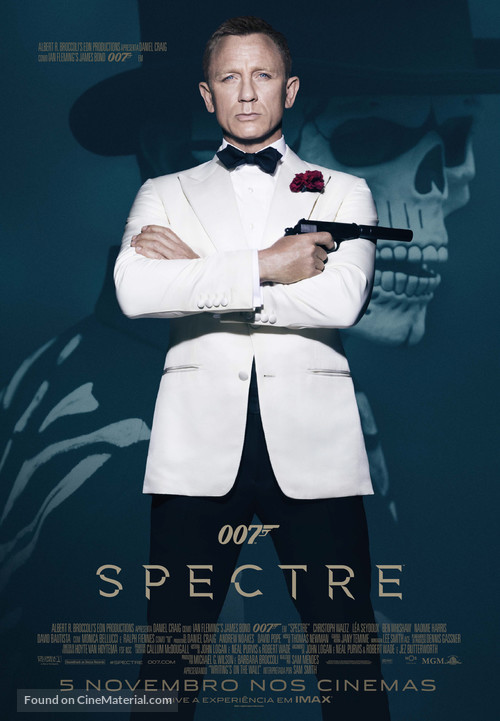 Spectre - Portuguese Movie Poster