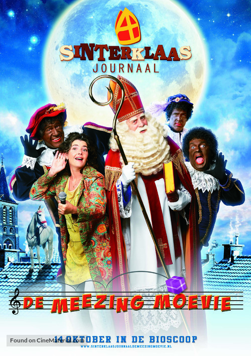 Sinterklaasjournaal de meezingmoevie - Dutch Movie Poster