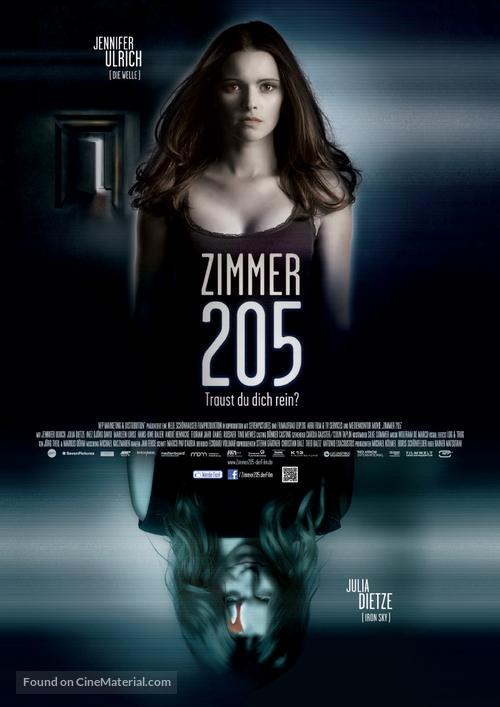 205 - Zimmer der Angst - German Movie Poster