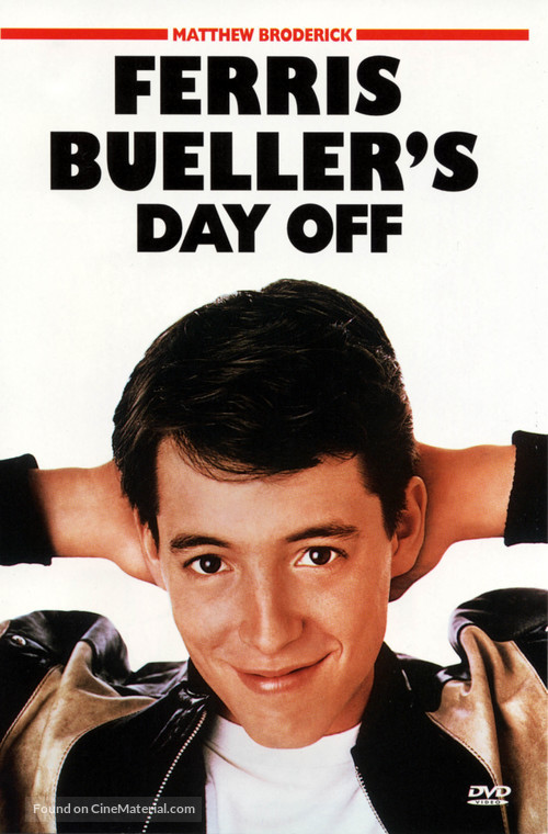 Ferris Bueller's Day Off - DVD cover