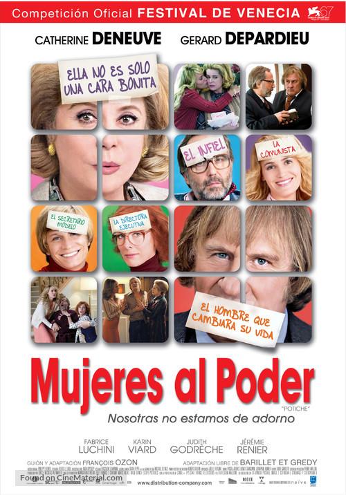 Potiche - Argentinian Movie Poster