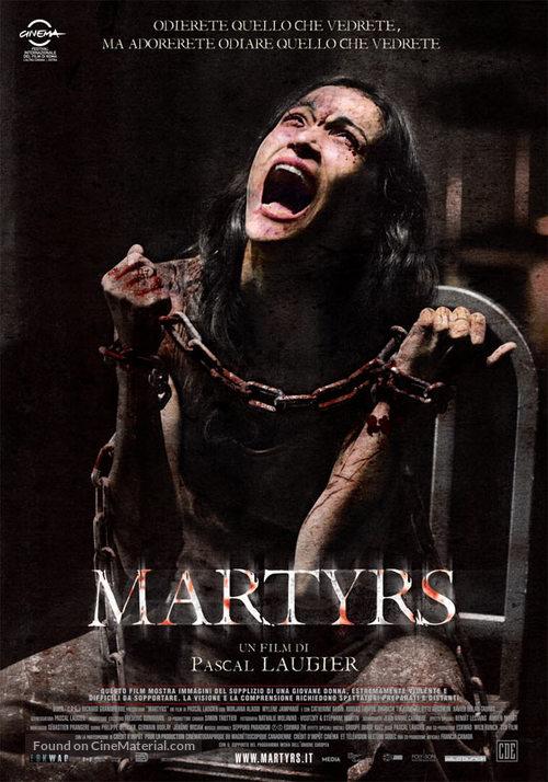 Martyrs - Italian Movie Cover