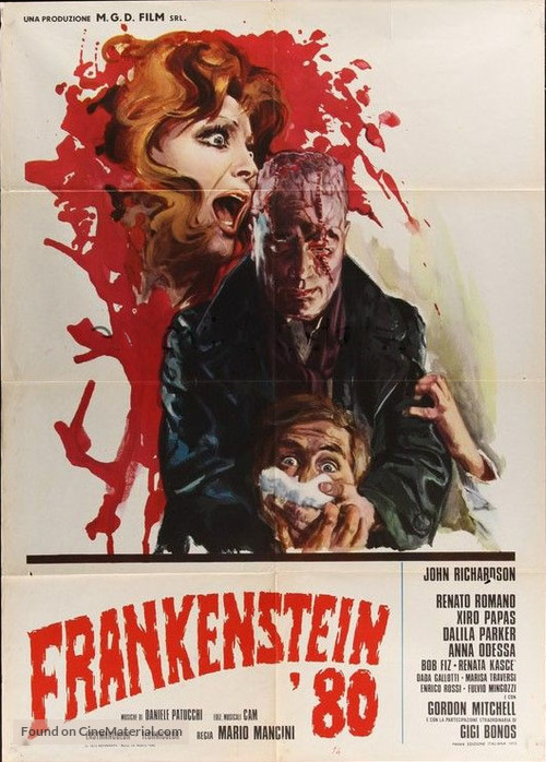 Frankenstein '80 - Italian Movie Poster