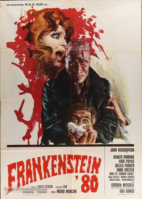 Frankenstein '80 - Italian Movie Poster