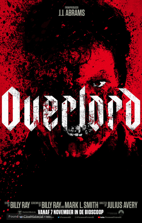 Overlord - Belgian Movie Poster