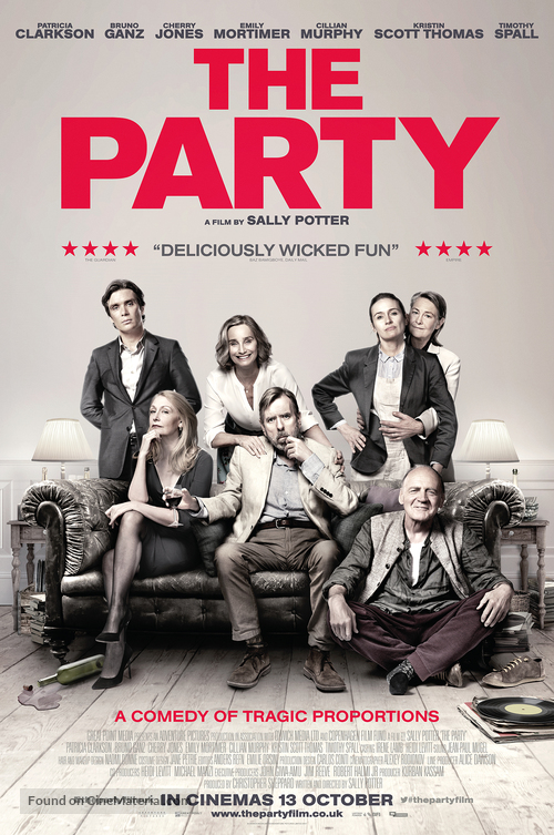The Party - British Movie Poster