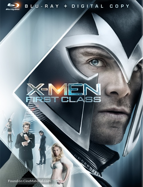 X-Men: First Class - Blu-Ray movie cover
