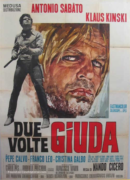 Dos veces Judas - Italian Movie Poster
