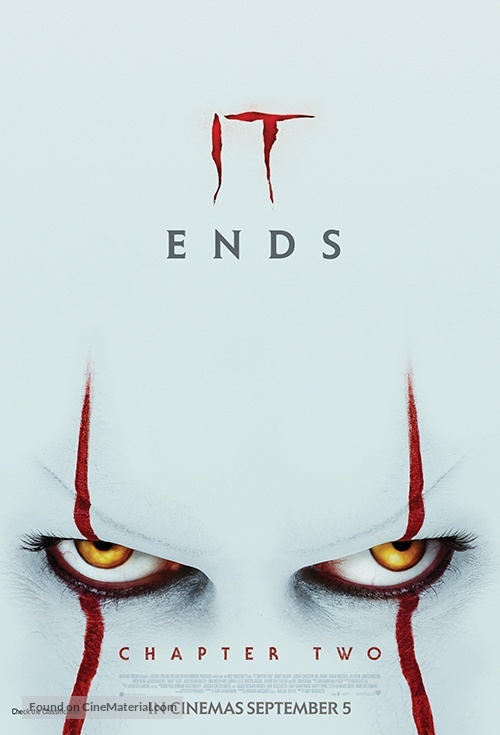 It: Chapter Two - New Zealand Movie Poster