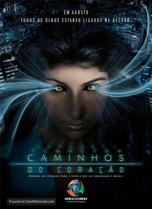 """""""Caminhos do Coração"""" - Brazilian poster"""