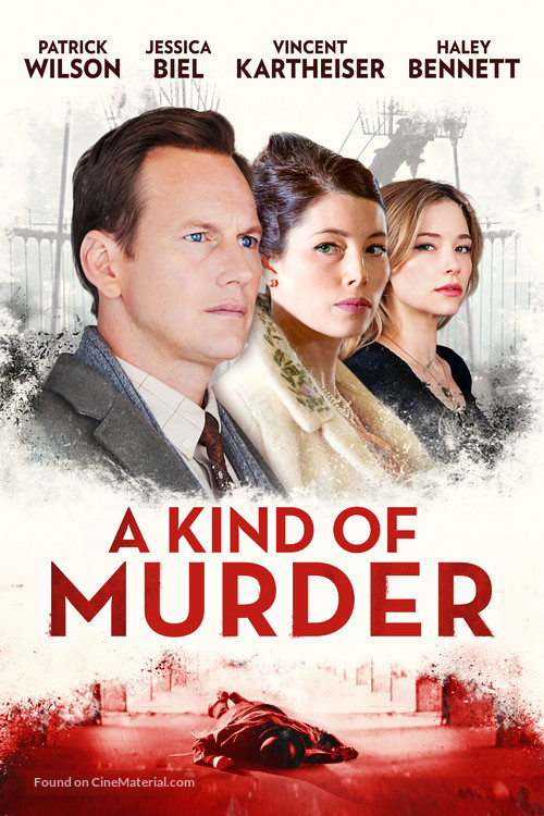 A Kind of Murder - German Movie Cover