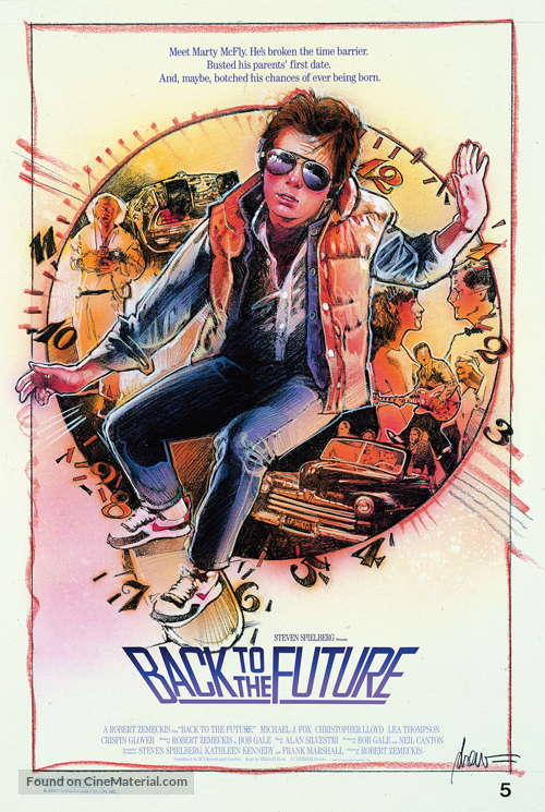 Back to the Future - poster
