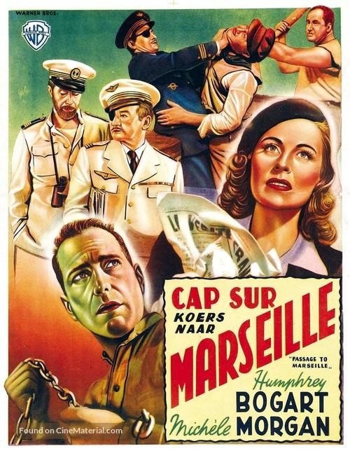 Passage to Marseille - Belgian Movie Poster