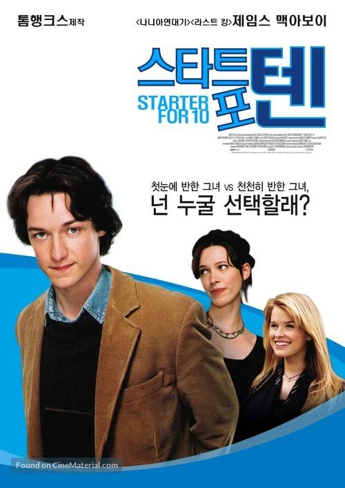 Starter for 10 - South Korean poster