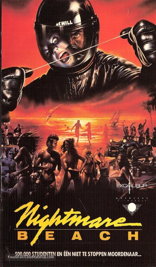 Nightmare Beach - Belgian VHS movie cover