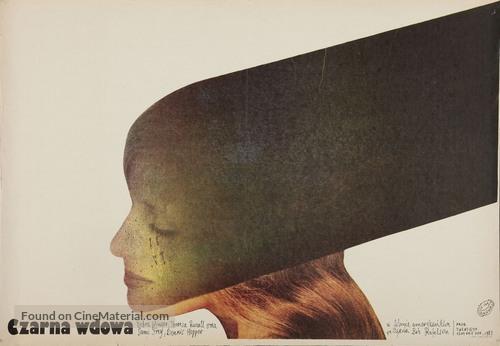 Black Widow - Polish Movie Poster