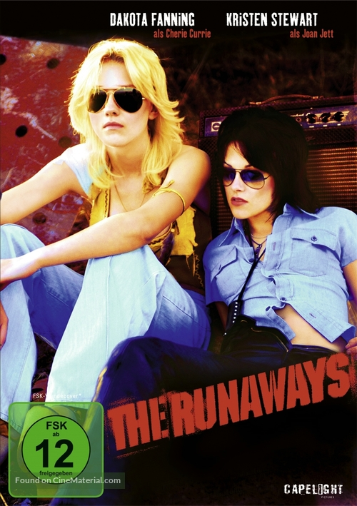 The Runaways - German Movie Cover