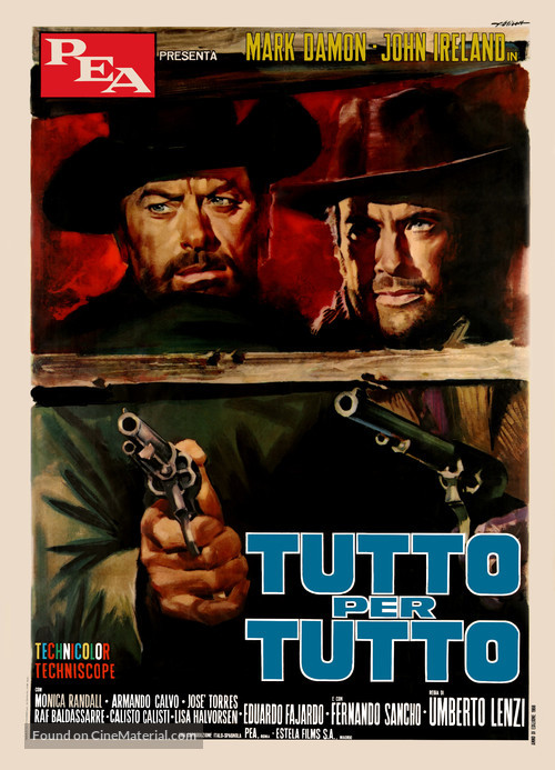 Tutto per tutto - Italian Movie Poster