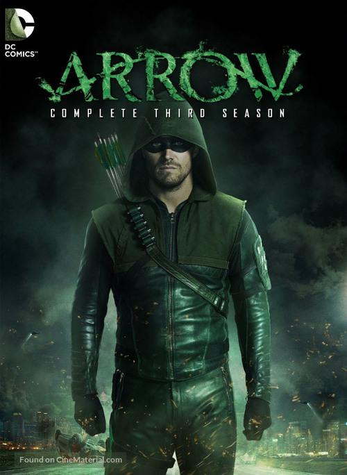 """Arrow"" - DVD movie cover"