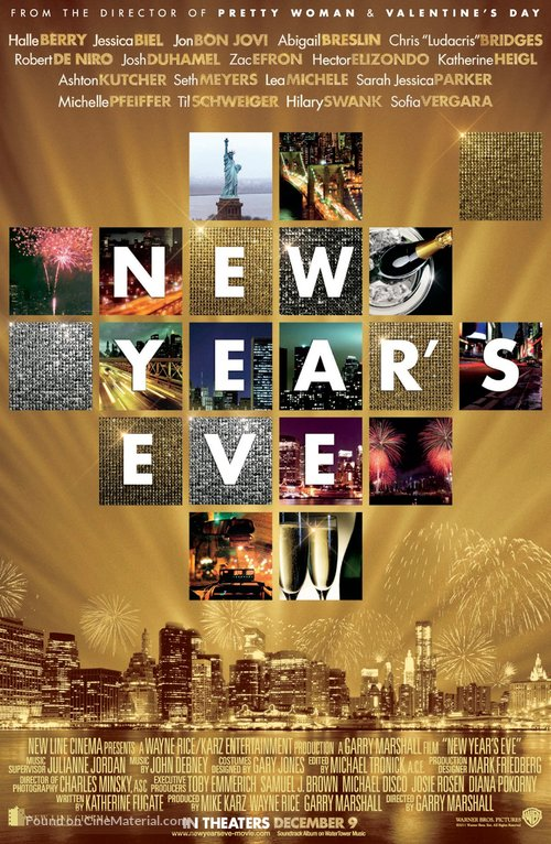 New Year's Eve - Movie Poster
