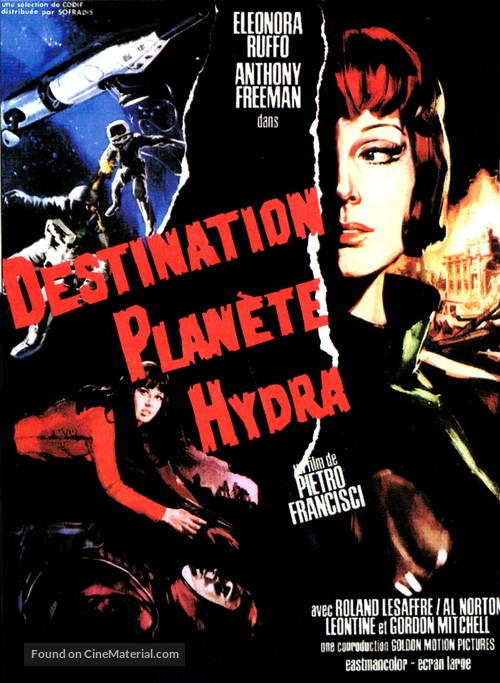 2+5: Missione Hydra - French Movie Poster