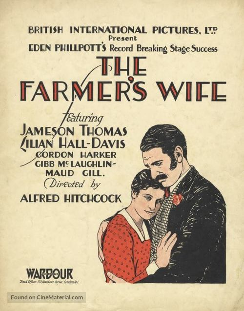 Image result for the farmer's wife 1928 poster