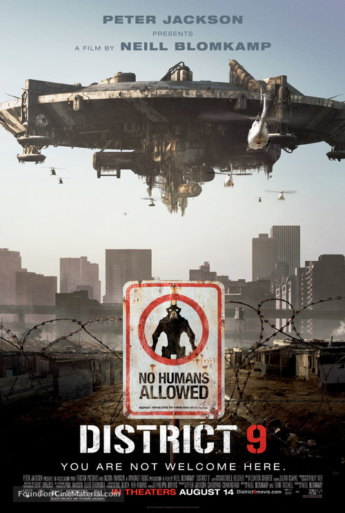 District 9 - Movie Poster