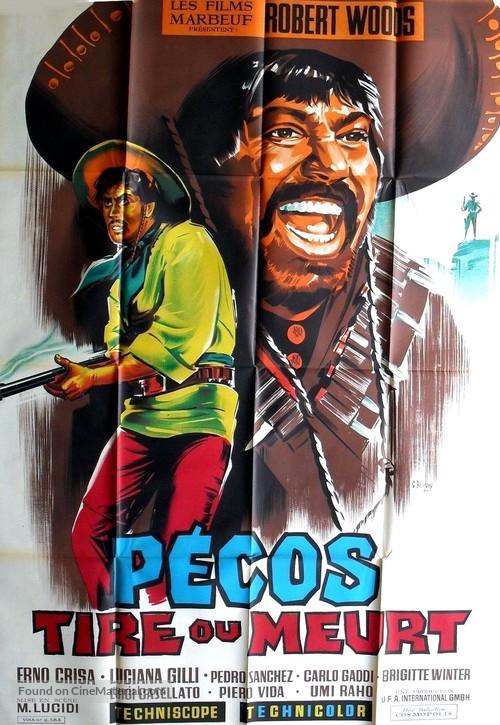 Pecos è qui: prega e muori - French Movie Poster
