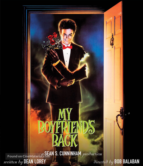 My Boyfriend's Back - Blu-Ray movie cover